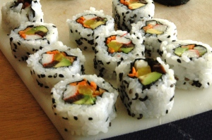 Inside-out California Roll