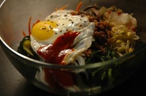 Bibimbap (mixed rice & vegetables)